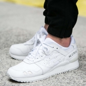 Кроссовки Asics TIGER Gel-Lyte III Leather White HL6A2-0101