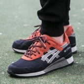 Кроссовки Asics TIGER Gel-Lyte III Red/Blue H628Y-5012