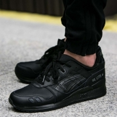 Кроссовки Asics TIGER Gel-Lyte III Leather Black HL6A2-9090