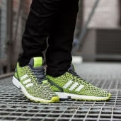Кроссовки Adidas ZX Flux Techfit Yellow/White B24934