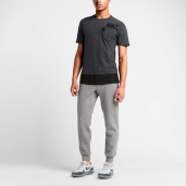 Штаны Nike AW77 FT Cuff Fleece Pant Grey