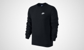 Толстовка Nike Sweatshirt FLC In Black 804340-010