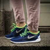 Кроссовки Nike Free 5.0 GS Deep Royal Blue 725104-403